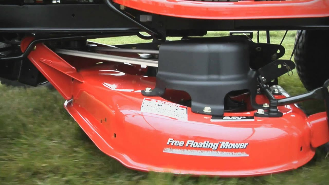 Free Floating Mower Deck Secret to Simplicity Striping