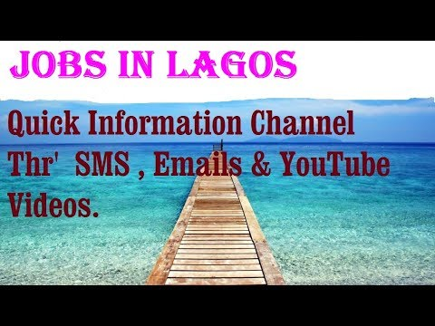 Jobs in LAGOS    City for freshers & graduates. industries, companies.   NIGERIA