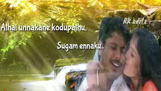 Enakenna irunthathu oru manasu old love song whats app status   Rk editz