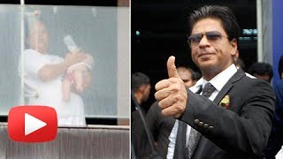 Shahrukh khan talks about his first birthday and diwali with abram