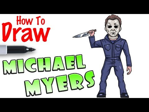 How To Draw Michael Myers Youtube