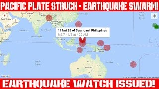 Earthquake Report | April 05, 2016 | Pacific Plate Hammered!| Earthquake Watch Issued!