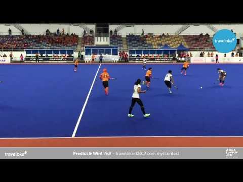 Live from National Hockey Stadium, Bukit Jalil. Women's Team Hockey-Field, Thailand Vs Malaysia.