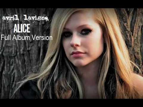 Avril Lavigne  Alice Full Album Version