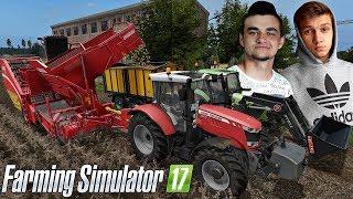 """Akcja Pyra czyli Grimme na mojej gospie Farming Simulator 17 """"Sąsiedzkie zmagania""""#25 ㋡/w Tanas"""