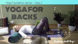 Yoga for Backs  Class 1 Part 2
