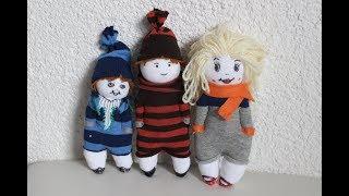 DIY.Puppen aus Socken/diy. Dolls Made of socks