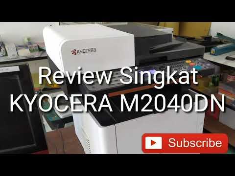 Kyocera M2040DN - Review Singkat