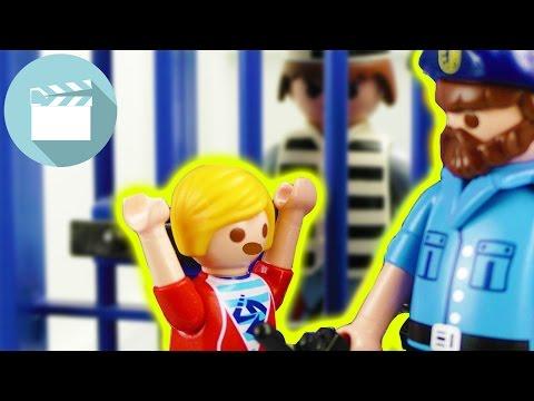 MARVIN LANDET bei der POLIZEI! WAS hat er VERBROCHEN?! | Playmobil Film Deutsch