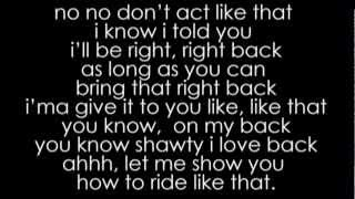 Travis Porter - Ride Like That ( Lyrics ) ft. Jeremih