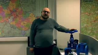 видео Задвижка с обрезиненным клином для трубопроводов