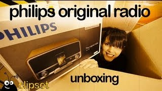 Philips original radio unboxing