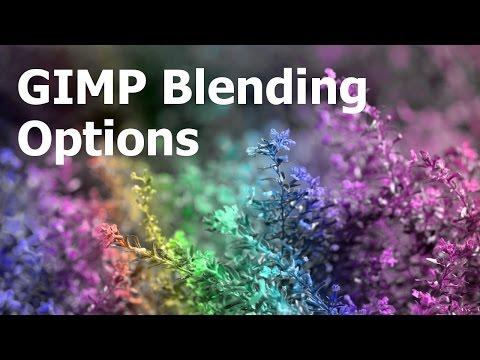 Blending Modes in GIMP