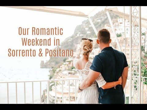 A Romantic Weekend on the Amalfi coast // Positano & Sorrento Travel Vlog // AD
