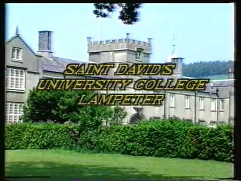 SDUC Lampeter Graduation Ceremony 1992