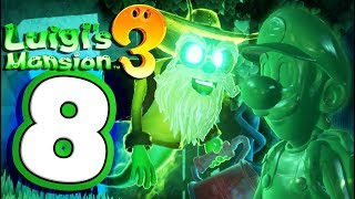 Luigi's Mansion 3 Walkthrough Part 8 Magical Garden Suites (Nintendo Switch) Co-Op