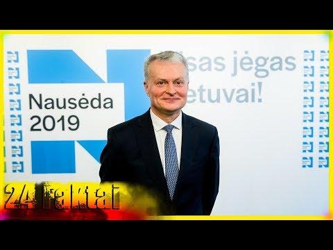 24 Faktai : Gitanas Nausėda (keletas faktų apie naująjį Lietuvos prezidentą)