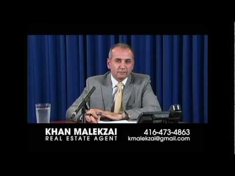 Khan Malekzai, Real Estate Agent in Toronto, GTA for the last 10 yearsفارسی, پشتو , по русский