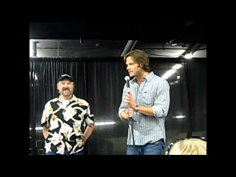 Panel with Jared Padalecki and Jim Beaver at Dallas Brunch 2008