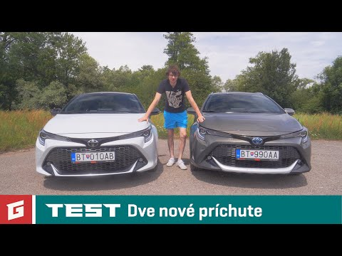 TOYOTA Corolla GR Sport a Touring Sports TREK 2.0 Hybrid Dynamic Force - TEST - GARAZ.TV - Sulko