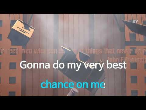 ABBA Take A Chance On Me  KARAOKE