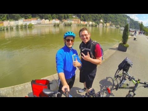 Donauradweg Passau - Wien mit dem Fahrrad, GoPro HD