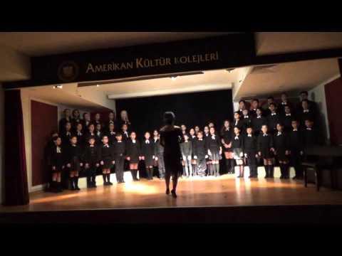 Amerikan Kültür Koleji 10 Kasım Atatürk'ü Anma Töreni - 1
