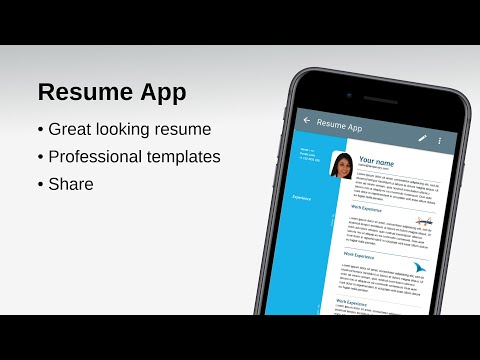 free resume app apps on google play - Free Resume App