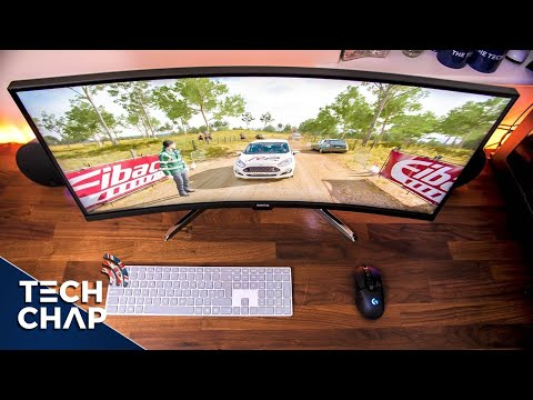 """The 35"""" Ultrawide Monitor with HDR - BenQ EX3501R Review 