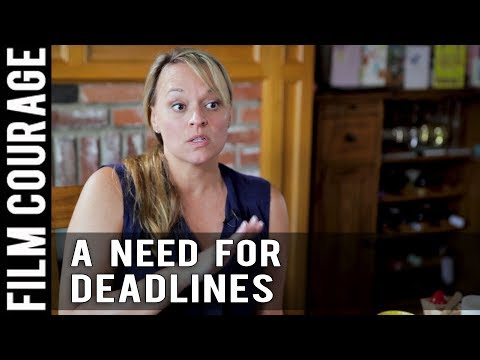 Deadlines Separate Professional Screenwriters and Hobby Writers by Christine Conradt