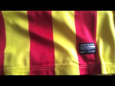 FCB Barca Jersey! 2013 Authentic Nike