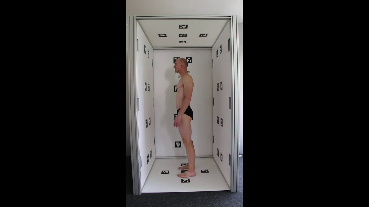 3D body scanner AVAone, Avalution