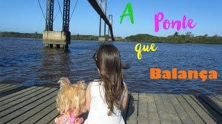 BABY ALIVE E LAURA NA PONTE GIGANTE - BRINCADEIRAS DE FÉRIAS - CONHECENDO O MAR