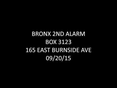 FDNY Radio: Bronx 2nd Alarm Box 3123 09/20/15
