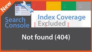 Google Search Console Index Coverage Not Found 404