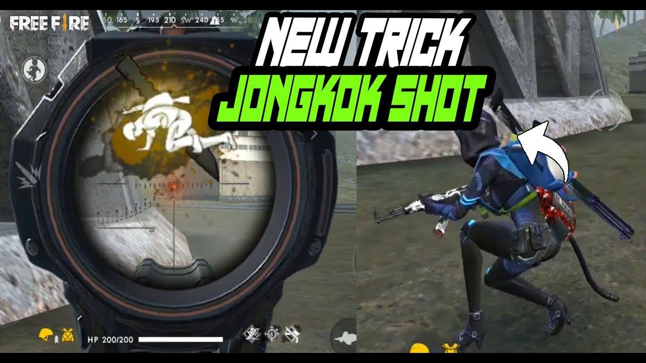 New Trick Jongkok Shot Setelah Update Garena Free Fire