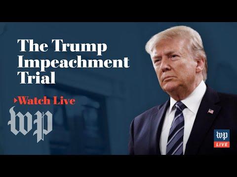 Impeachment trial of President Trump   Jan. 29, 2020 (FULL LIVE STREAM)