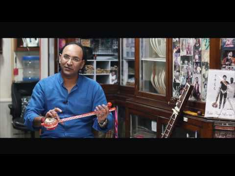 Fretted Punjabi Tumbi | Folk Instrument of India | Ajay RikhiRam Tutorial
