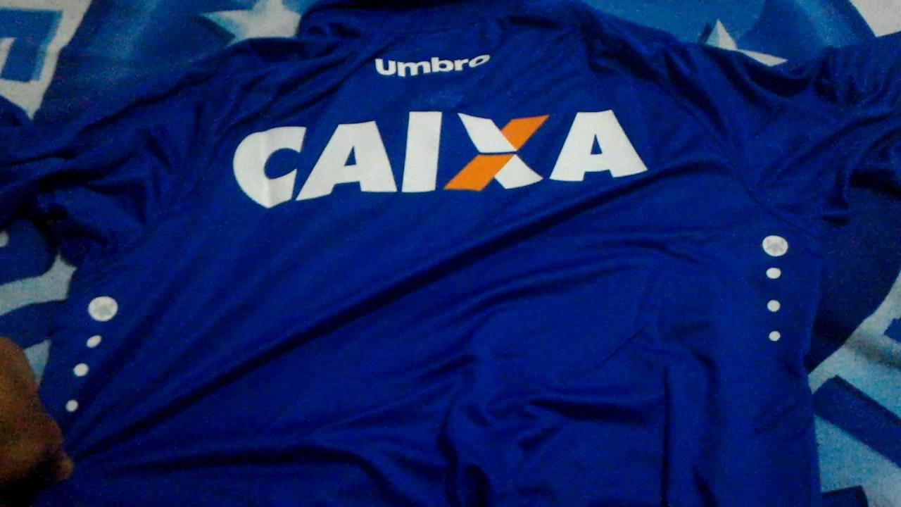 c846b14e1b Camisa Cruzeiro 2016 - YouTube