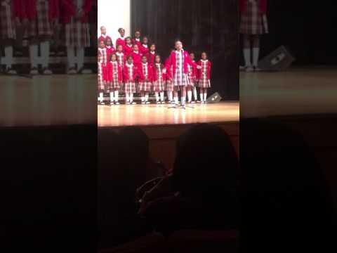 "Cardinal Shehan School Choir ""All My Trials"" Directed by Kenyatta Hardison 2/26/17"
