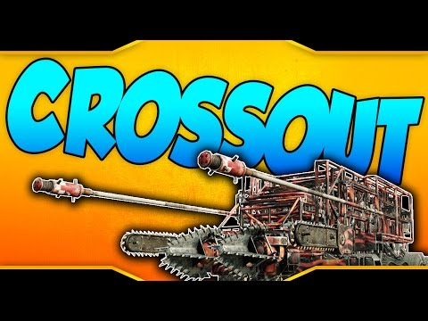 "Crossout ➤ Chameleon, Explosive Spears, Augers, & Chainsaws! - ""The Red Death!"" [Crossout Gameplay]"