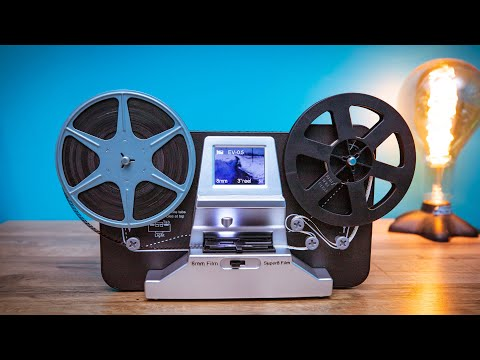 8mm And Super 8 Reels Movie Digitizer  Film Scanner Pro   Detailed Review