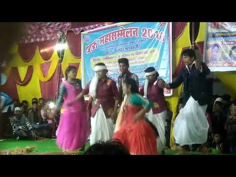 Ek Huithi Nepali Tharu Dance Raniyapur Shravasti 2018 Indian Tharu Songs