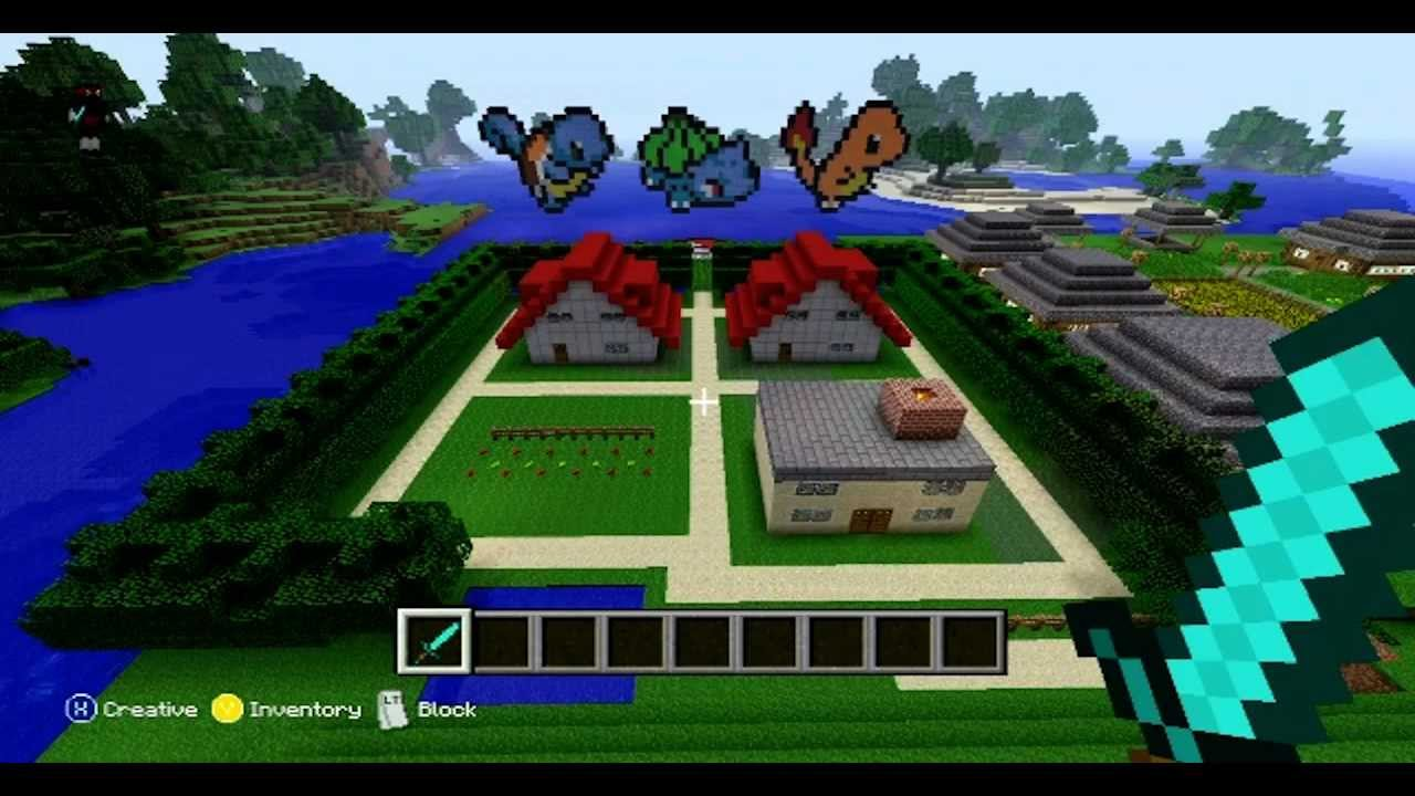 Minecraft Pallet Town Xbox 360 Edition YouTube