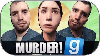Gmod Murder Funny Moments: Wood Fetish, Cutting Pun, Mom Failure, My House!