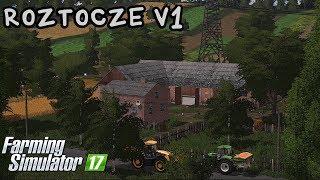 ️Prezentacja mapy - Roztocze V1 #44 Farming Simulator 17