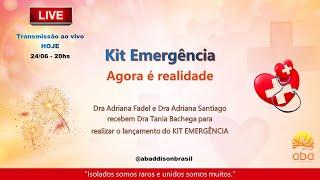 Gravação Live de divulgação do KIT EMERGENCIAL