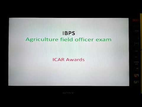 Ibps agricultural field officer