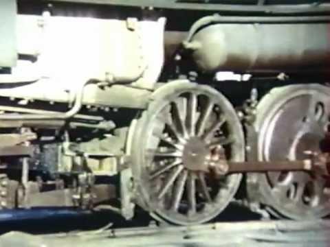 Dépôt SNCF de Vierzon dans les années 1960/1970
