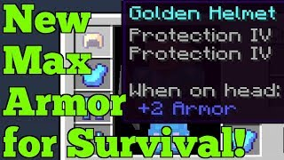 New BEST Armor for Survival! 1.9-1.16.1 Minecraft
